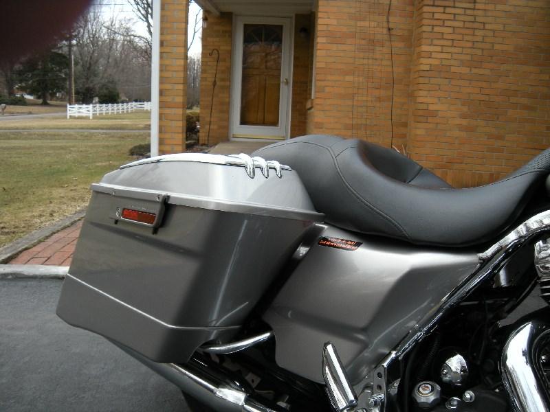 2009 Harley Davidson 174 Flhx Street Glide 174 Pewter Pearl