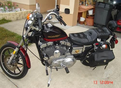 1987 Harley Davidson 174 Xlh 1100 Sportster 174 1100 Anniversary