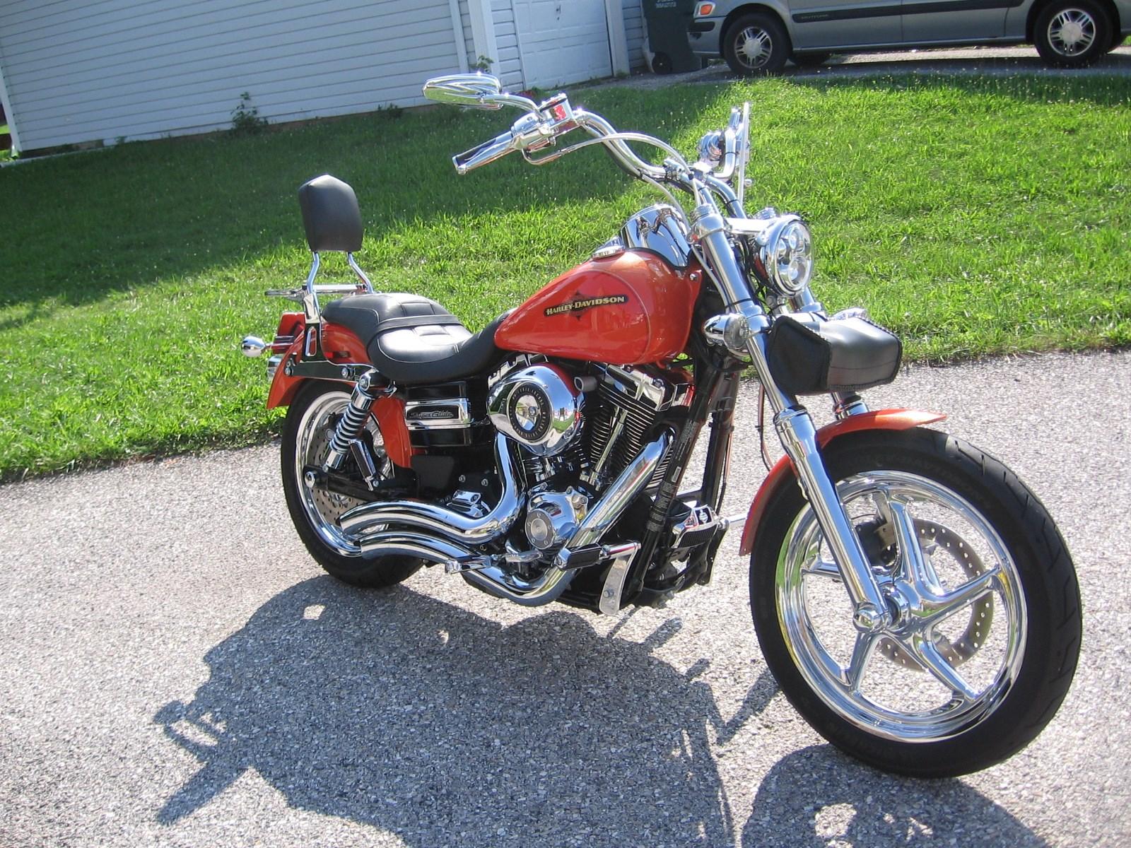 Harley Dyna For Sale Atlanta Ga >> 2012 Harley-Davidson® FXDC Dyna® Super Glide Custom (Harley Orange & Tequila Sunrise Orange ...