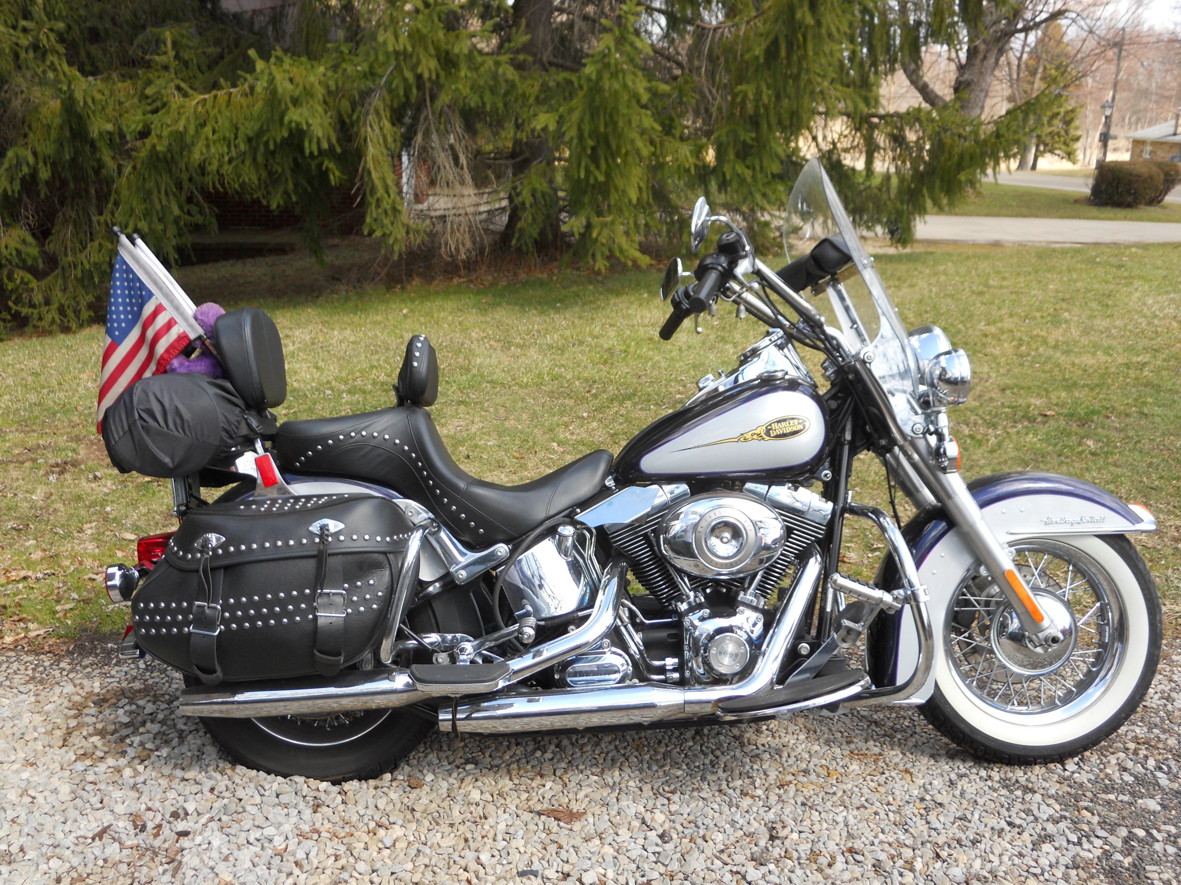 Motorcycle Dealer Orlando Fl >> 2009 Harley-Davidson® FLSTC Heritage Softail® Classic (Metallic purple & diamond ice), Hartville ...
