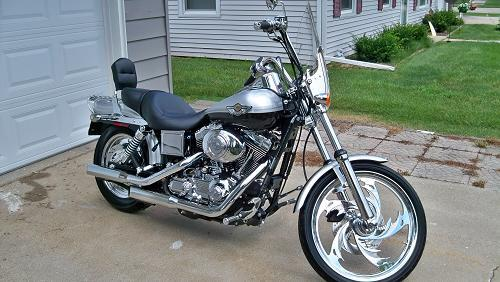 2003 harley davidson fxdwg i dyna wide glide black. Black Bedroom Furniture Sets. Home Design Ideas