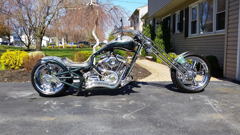 Photo of a 2005 Bourget Bike Works  Python Chopper