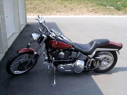 Used Harleys For Sale >> 1992 Harley-Davidson® FXSTC Softail® Custom (red and ...