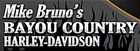 Mike Bruno's Bayou Country H-D's Logo