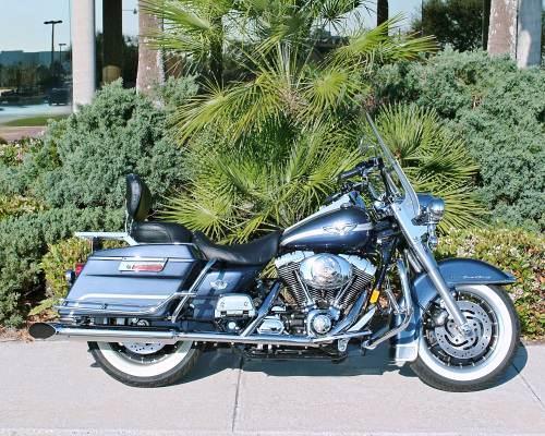 2003 Harley Davidson Flhr I Road King Blue Silver New Smyrna