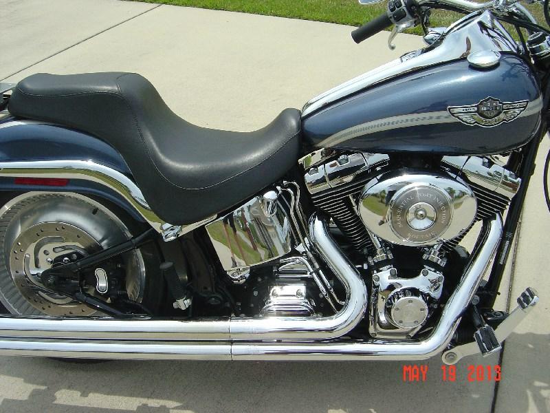 Used Harley Davidson Motorcycles For Sale San Marcos Tx >> 2003 Harley-Davidson® FXSTD/I Softail® Deuce™ (Gun Metal Blue/Silver), Panama City, Florida ...