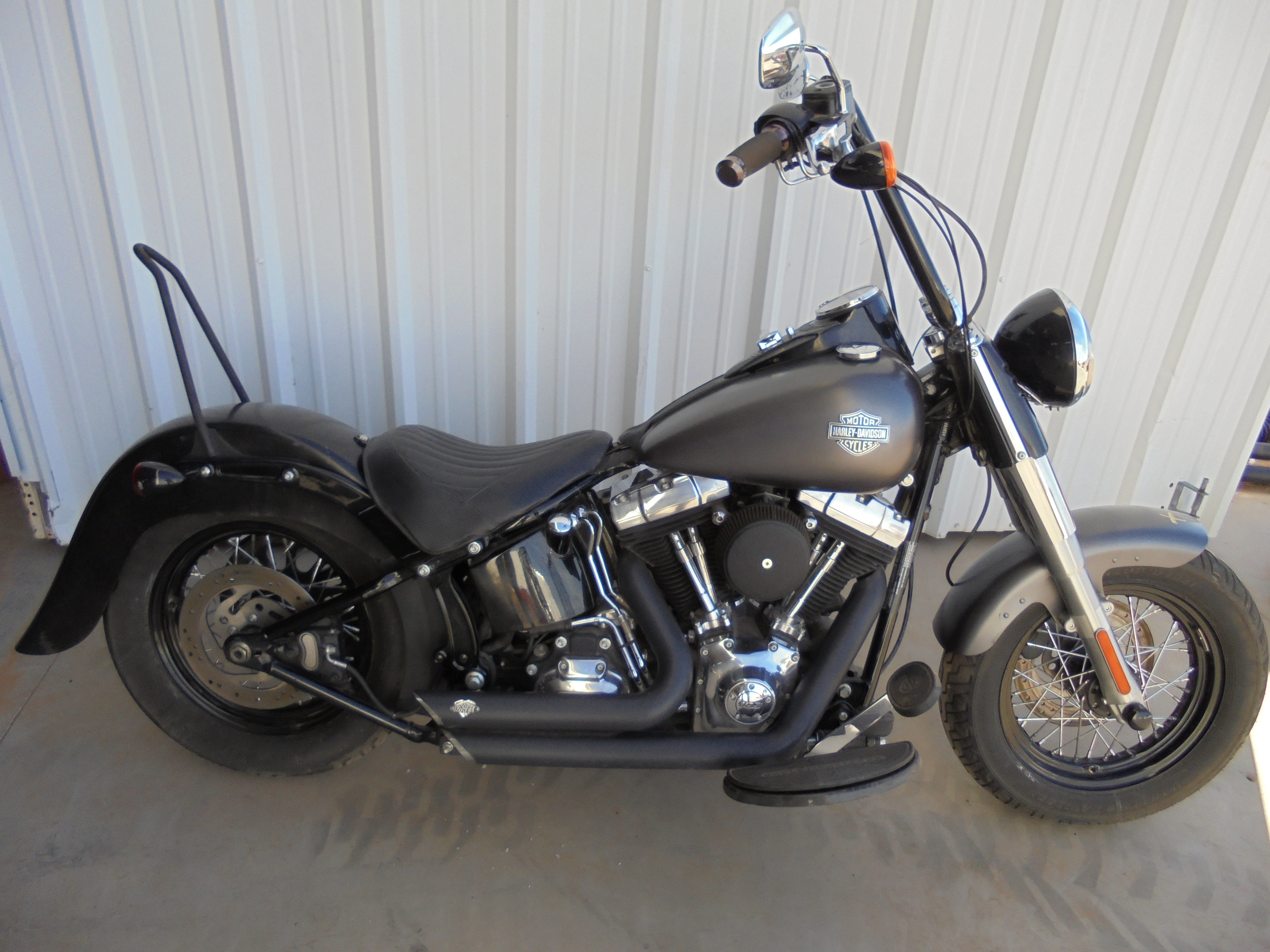 harley davidson softail slim for sale 762 bikes page 1 chopperexchange. Black Bedroom Furniture Sets. Home Design Ideas