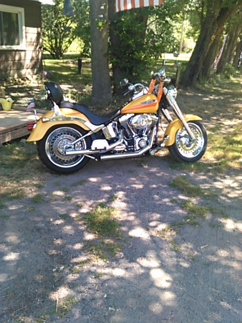 2007 Harley-Davidson® FLSTF Softail® Fat Boy®