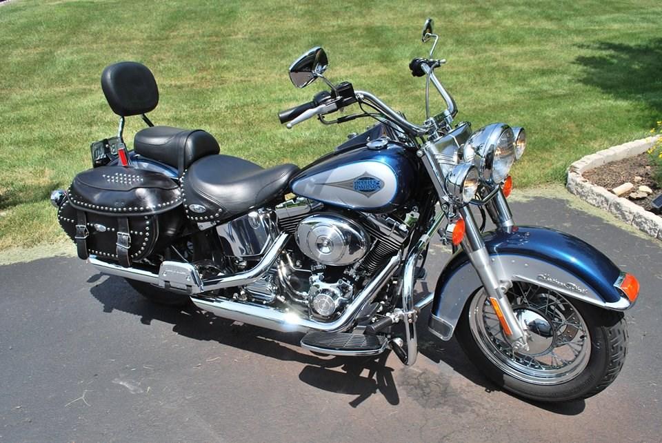 Harley Davidson Heritage  With Additional Chrome