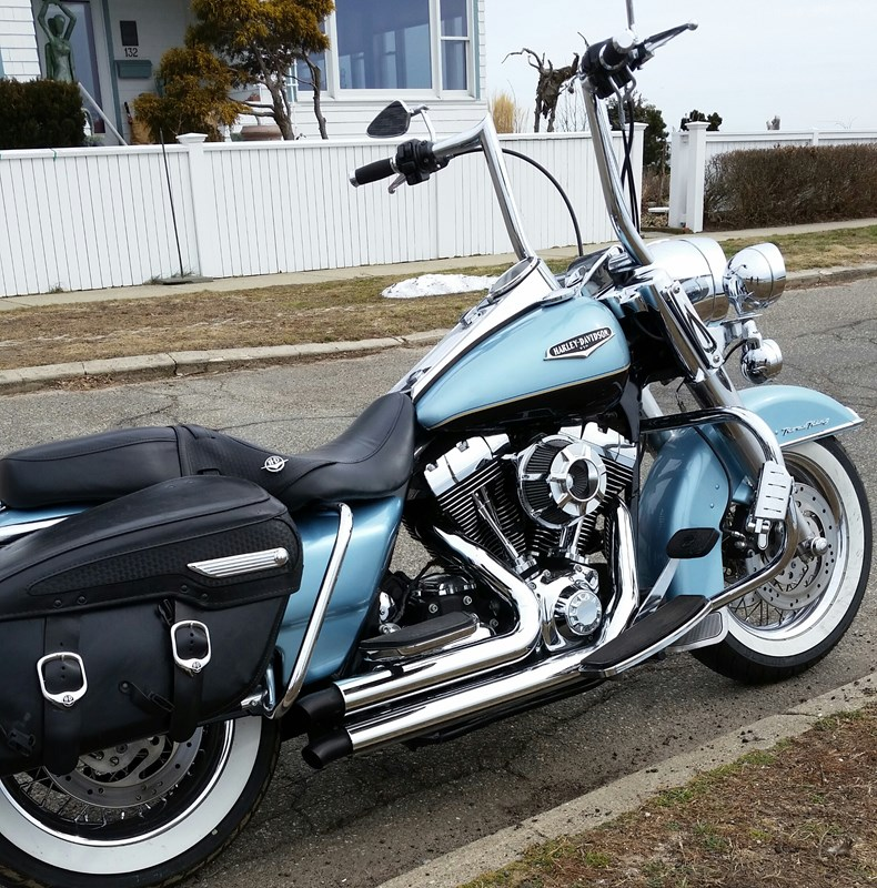 Harley Davidson Road King Classic Trans Oil Change