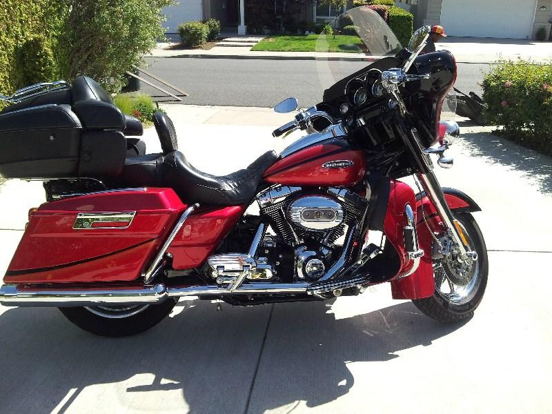 Harley Davidson Chico Ca >> 2007 Harley-Davidson® FLHTCUSE2 Screamin' Eagle® Ultra Classic® Electra Glide® (Red And Black ...