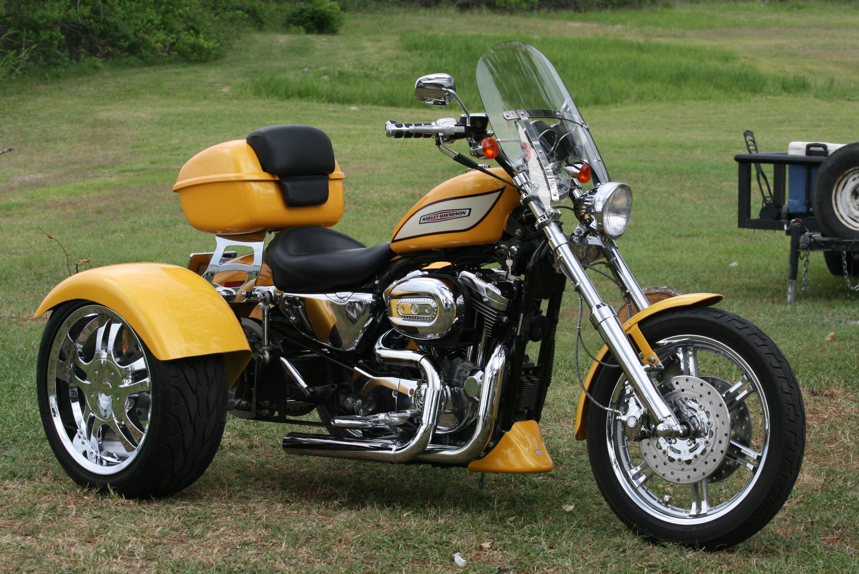 2005 Harley Davidson 174 Custom Trike Yellow Pearl Fate