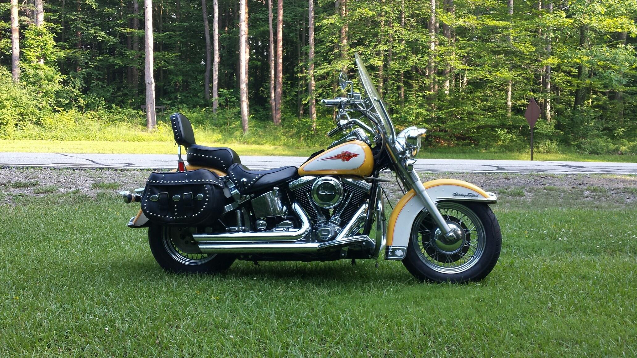 1995 Harley Davidson 174 Flstc Heritage Softail 174 Classic