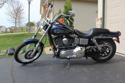 1998 harley davidson fxdwg dyna wide glide midnight. Black Bedroom Furniture Sets. Home Design Ideas