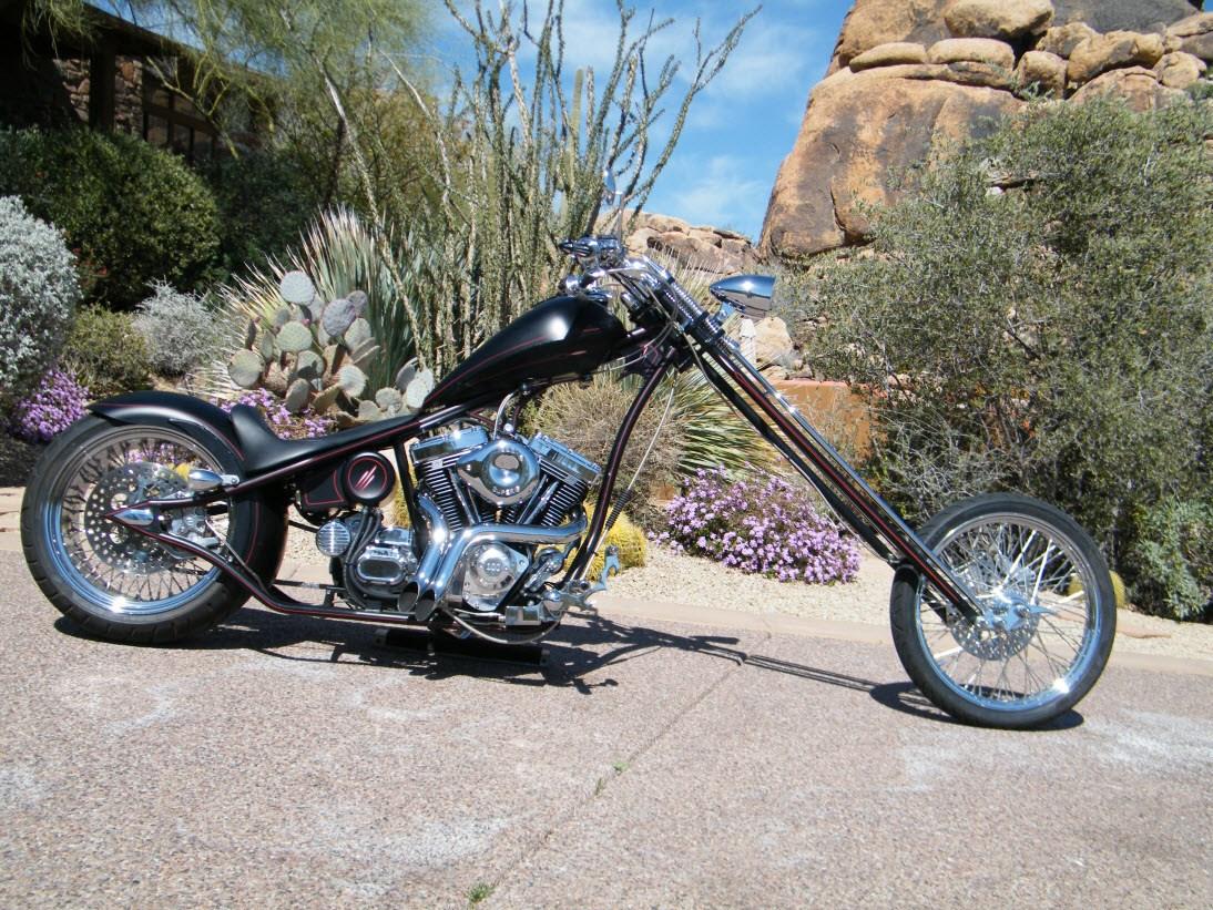 2008 Big Bear Choppers Merc Rigid (Flat Black with Custom ...