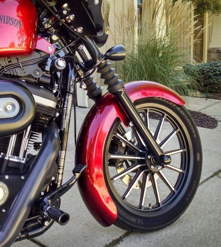 2012 Harley-Davidson® XL883N Sportster® Iron 883™ (Red