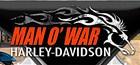 Man O' War Harley-Davidson's Logo