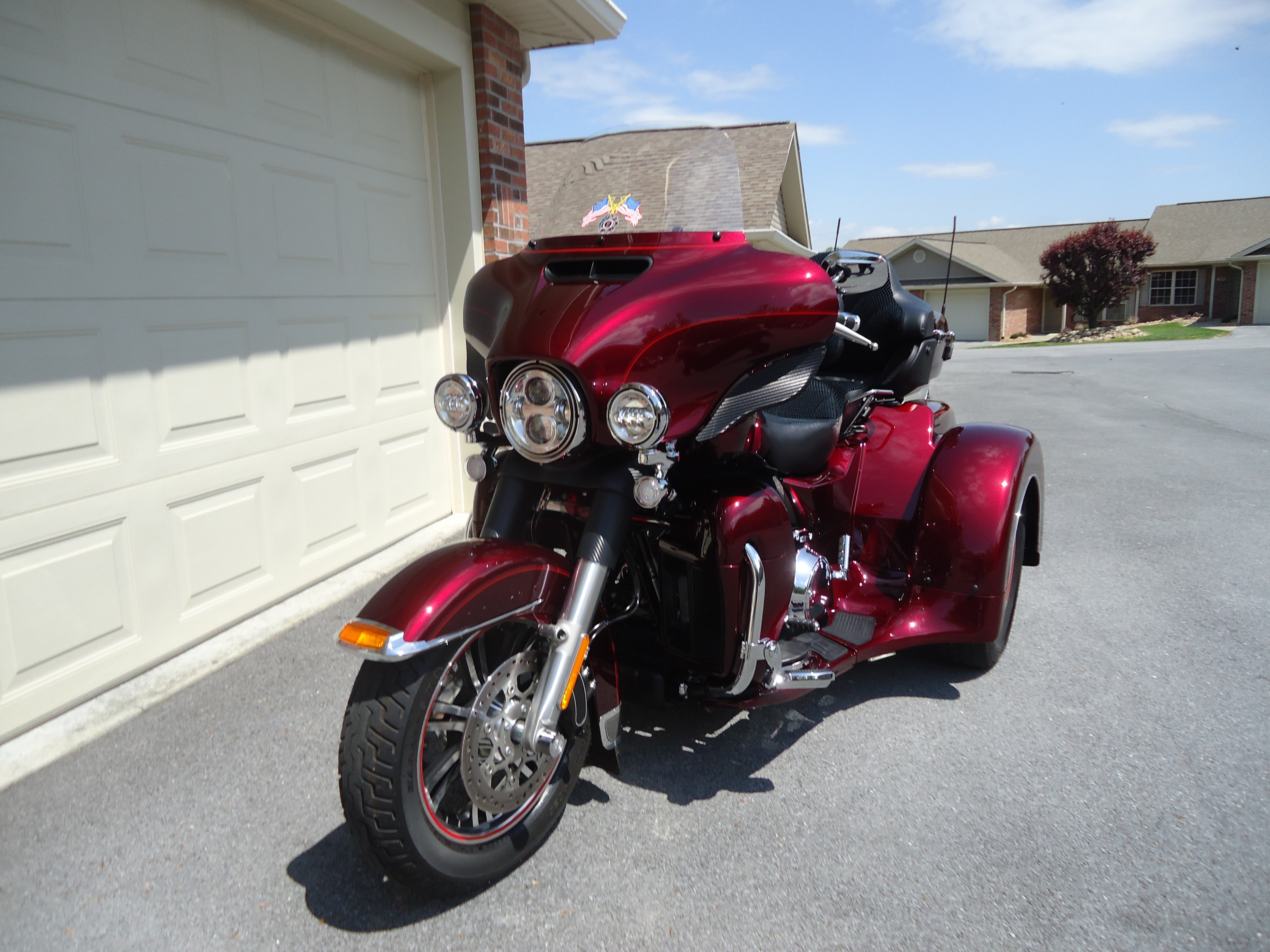 2015 Harley Davidson 174 Flhtcutg Tri Glide 174 Ultra
