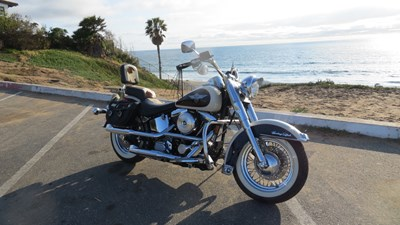 Photo of a 1993 Harley-Davidson® FLSTN Heritage Softail® Nostalgia
