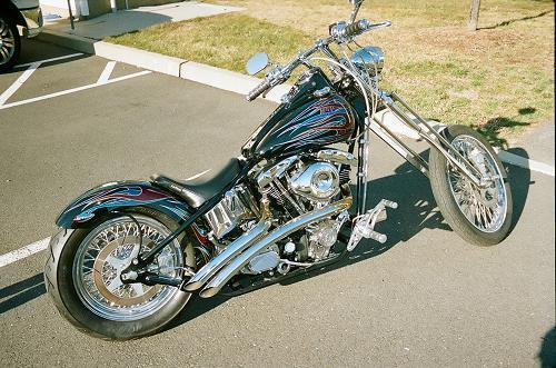 Photo of a 1984 Harley-Davidson® FLTC Tour Glide® Classic