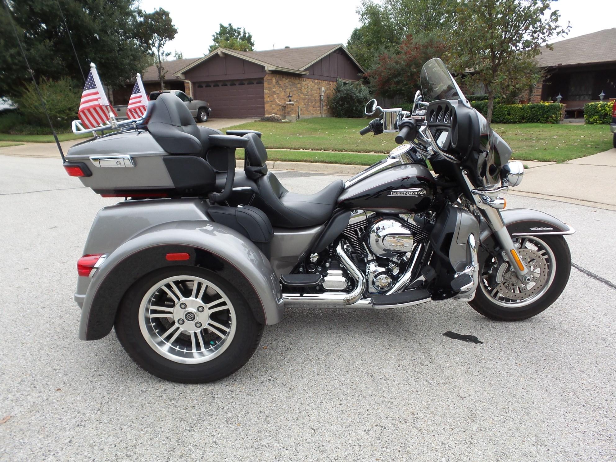 2016 Harley Davidson 174 Flhtcutg Tri Glide 174 Ultra Silver