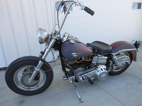 Photo of a 1977 Harley-Davidson® FXE Super Glide®