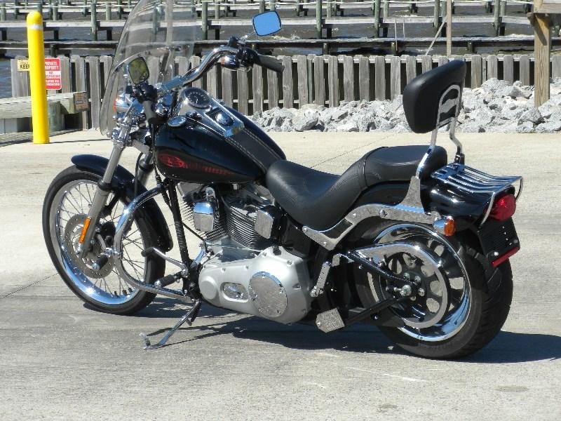 2006 Harley Davidson 174 Fxst I Softail 174 Standard Black
