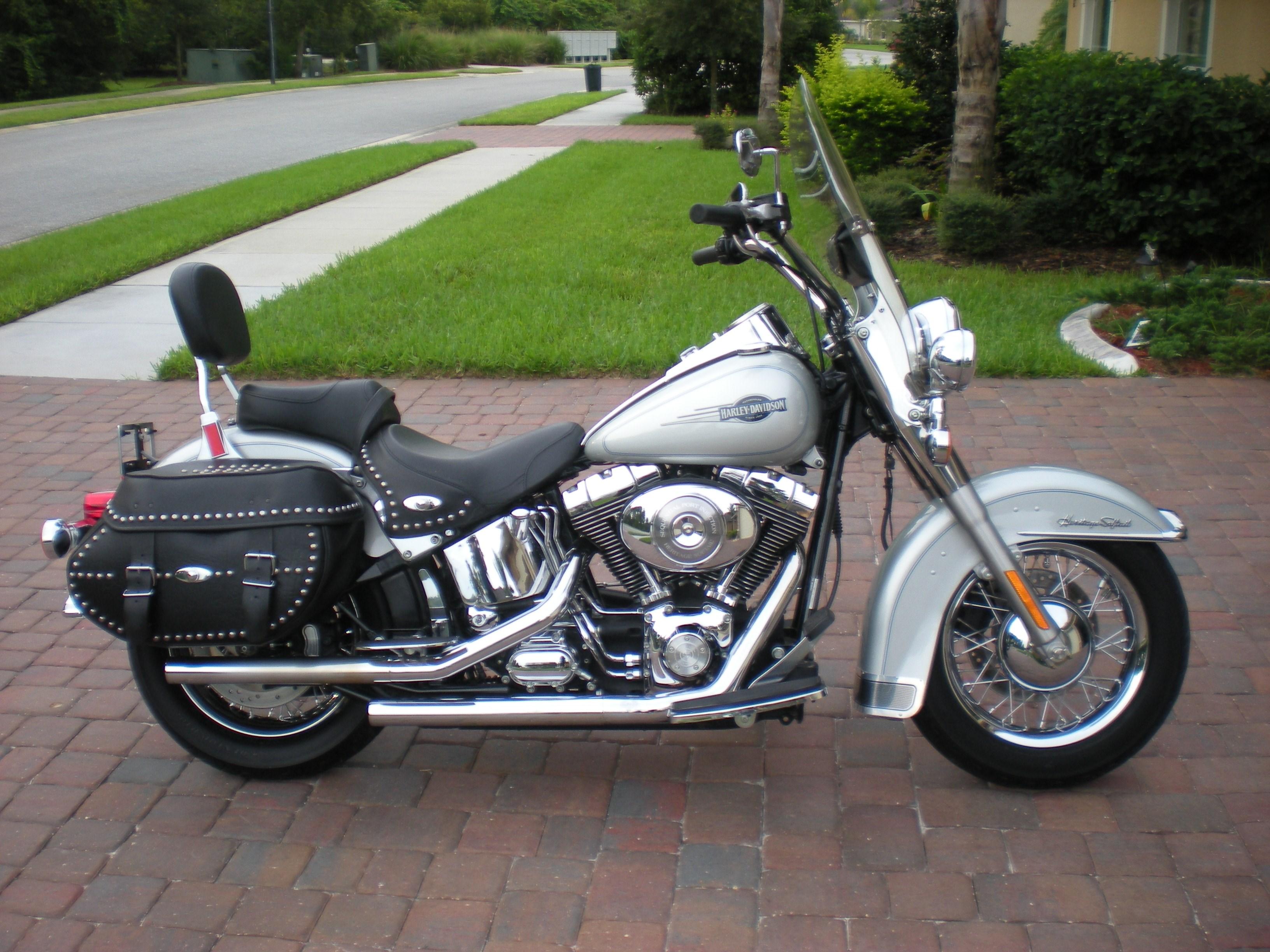 Harley Davidson Of Greenville >> 2006 Harley-Davidson® FLSTC/I Heritage Softail® Classic (Silver), palm coast, Florida (577202 ...