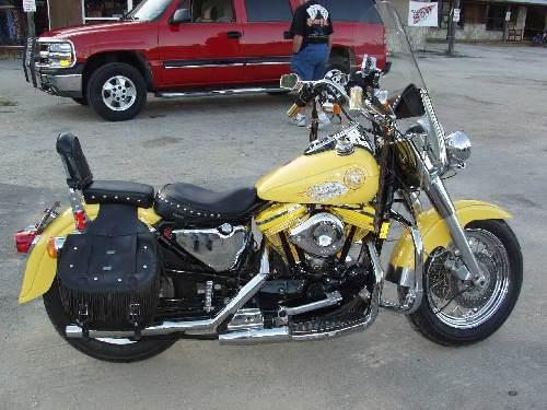 1994 Harley Davidson 174 Xl883h Sportster 174 883 Hugger Yellow