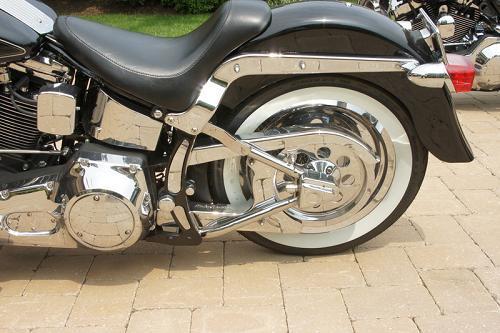 1996 Harley Davidson 174 Flstf Fat Boy 174 Custom Jaguar Black