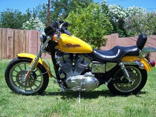 Used Tires Phoenix >> 2000 Harley-Davidson® XLH-883 Sportster® 883 (Yellow ...