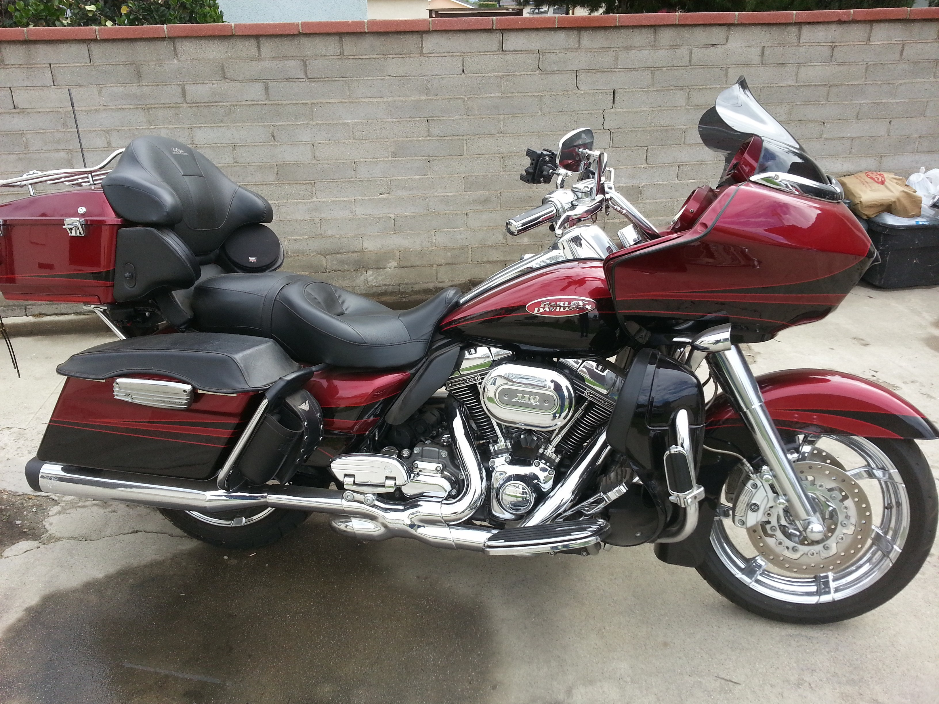 Palm Bay Ford >> 2011 Harley-Davidson® FLTRUSE CVO™ Road Glide® Ultra (Red ...