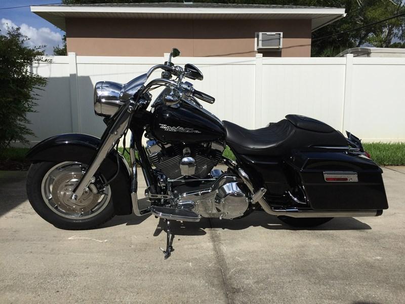 Used Motorcycles Nj >> 2004 Harley-Davidson® FLHRS/I Road King® Custom (black), St. Petersburg, Florida (576985 ...