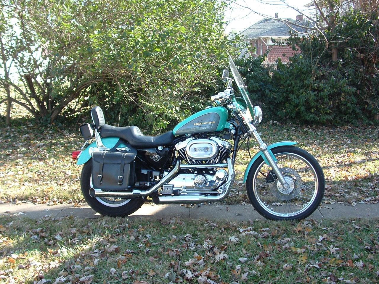Motorcycles For Sale In Ma >> 2000 Harley-Davidson® XL1200C Sportster® 1200 Custom (Metallic Teal/Gunmetal Gray), Saint ...
