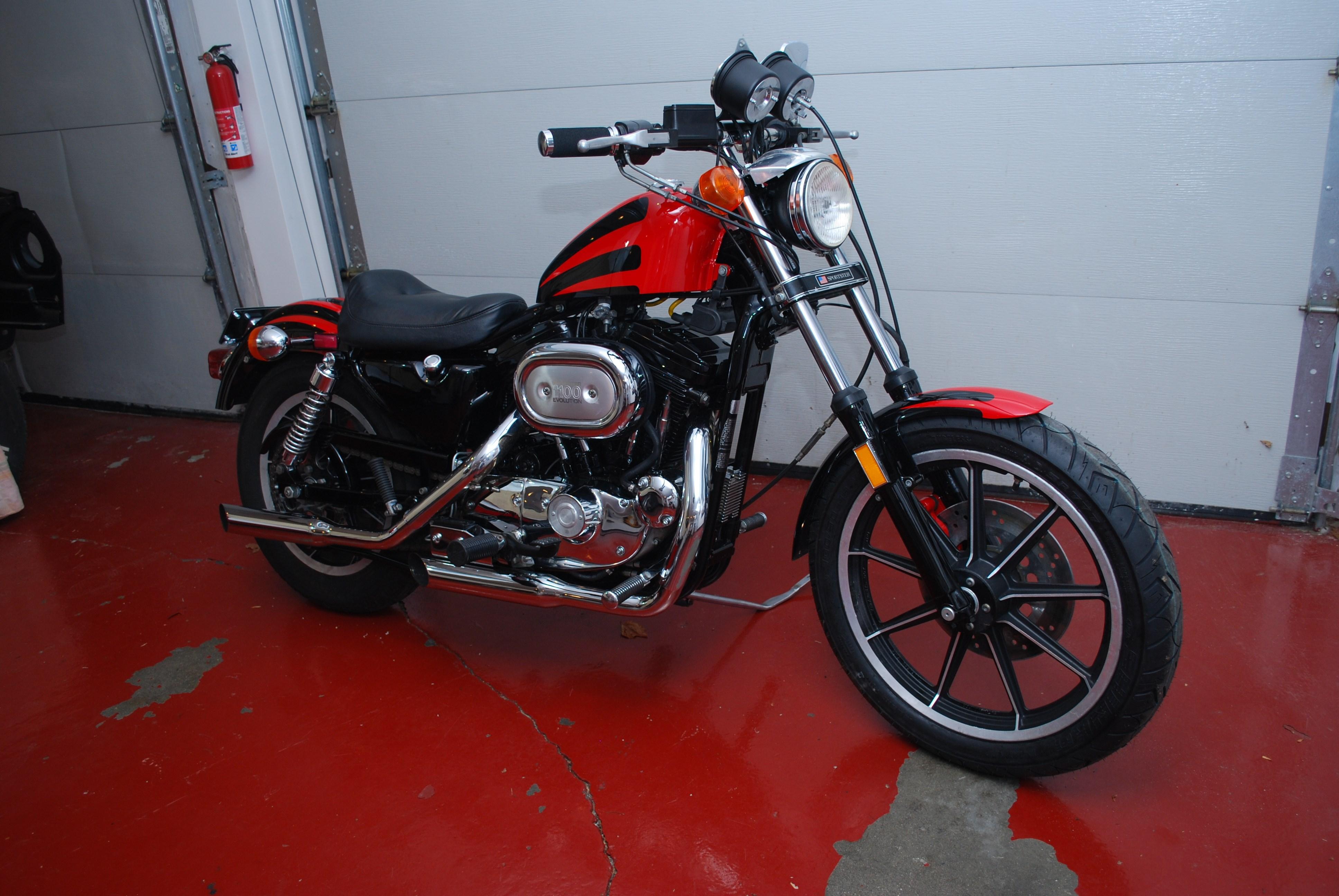 1986 Harley-Davidson® XLH-1100 Sportster® 1100 (Red/Black ...