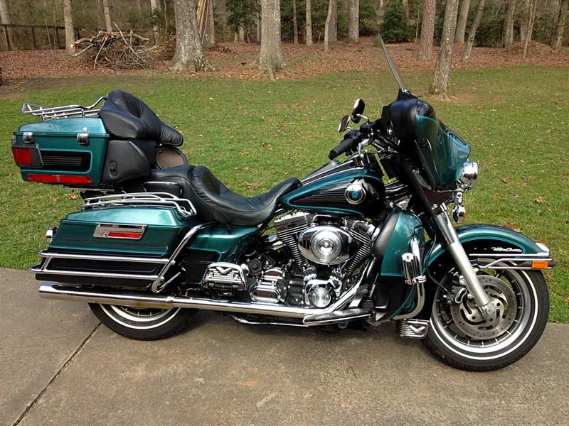 2000 Harley I Electra Glide U00ae Ultra Classic U00ae  Green  Black   Simpsonville  South