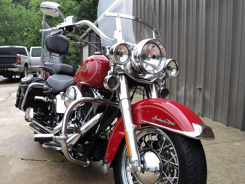 Harley Davidson Bike Covers >> 2005 Harley-Davidson® FLSTC/I Heritage Softail® Classic® Firefighter/Peace Officer (RED ...