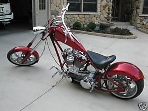 2005 Orange County Choppers (OCC) T-Rex Softail (Red ...