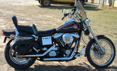 1995 harley davidson fxdwg dyna wide glide black. Black Bedroom Furniture Sets. Home Design Ideas