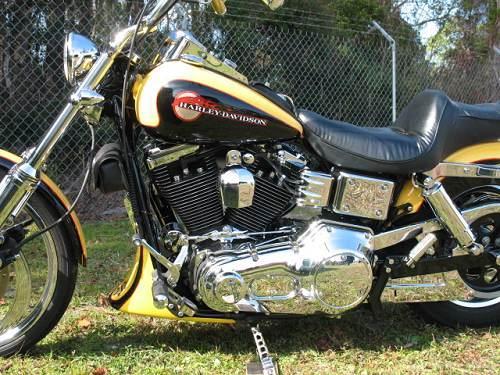 1995 Harley Davidson 174 Fxdwg Dyna 174 Wide Glide 174 Black