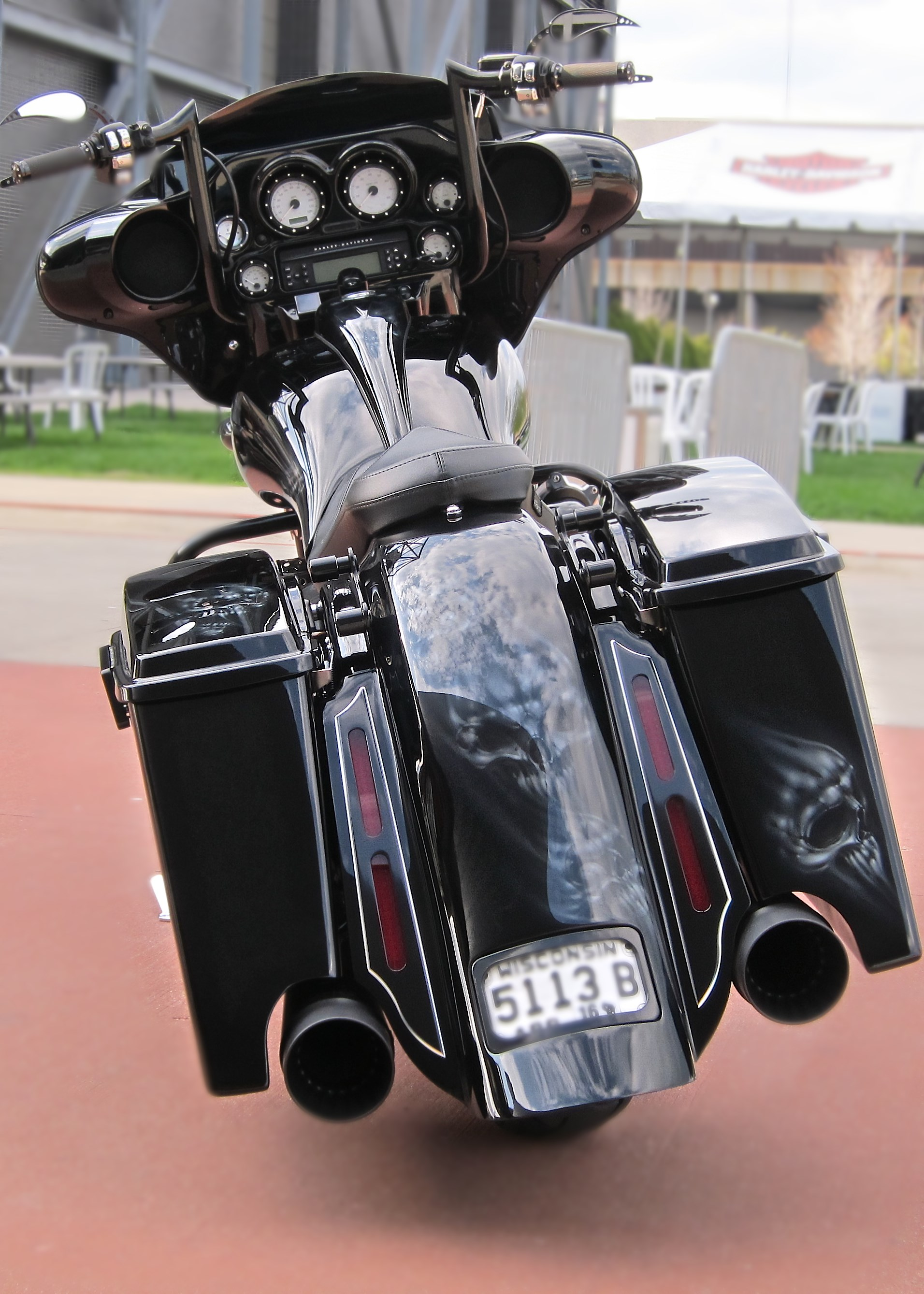 2009 Harley Davidson 174 Flhx Street Glide 174 Black