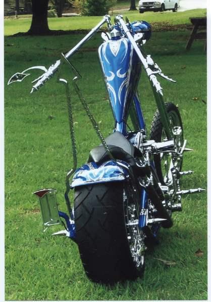 2008 Harley-Davidson® FXSTC Softail® Custom (Candy Blue ...