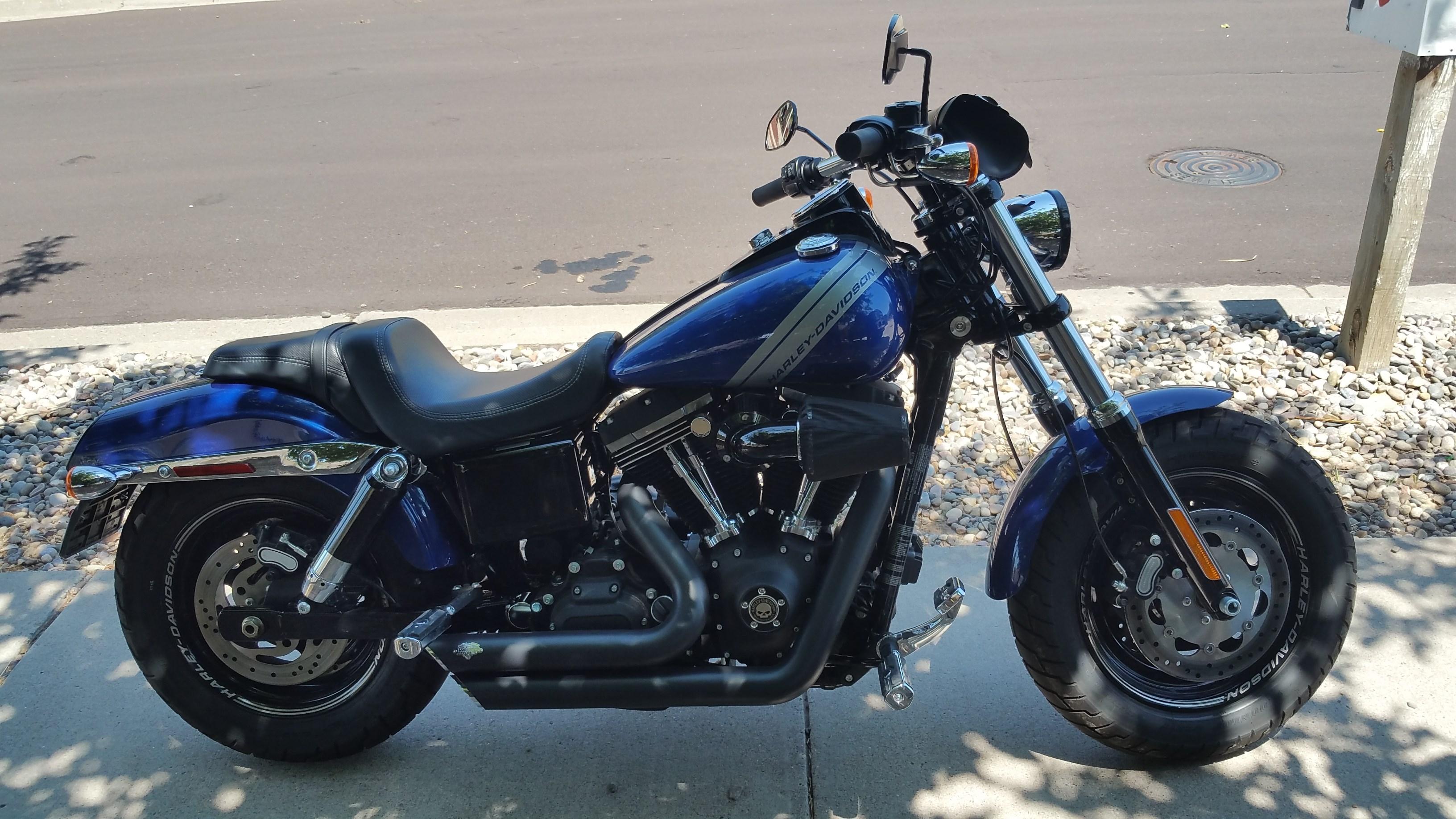 2015 Harley Davidson 174 Fxdf Dyna 174 Fat Bob 174 Superior Blue