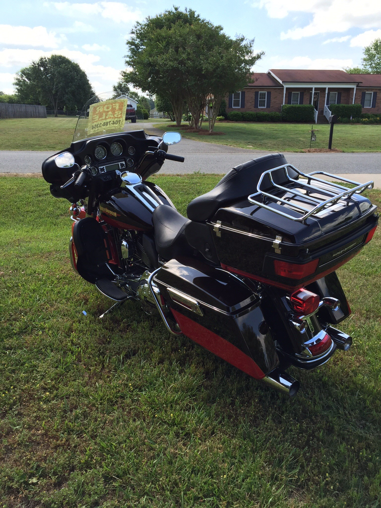 Harley Davidson Touring Motorcycles For Sale Dallas Tx >> 2010 Harley-Davidson® FLHTK Electra Glide® Ultra Limited (Two Tone Merlot Sunglow / Cherry Red ...