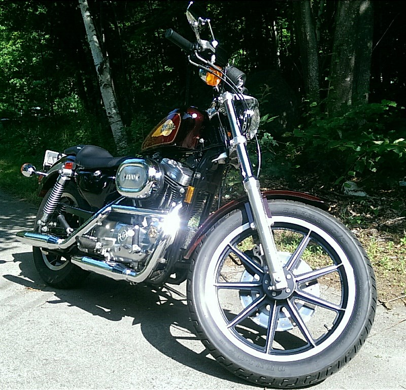 Photo Of A 1991 Harley DavidsonR XLH 1200 SportsterR