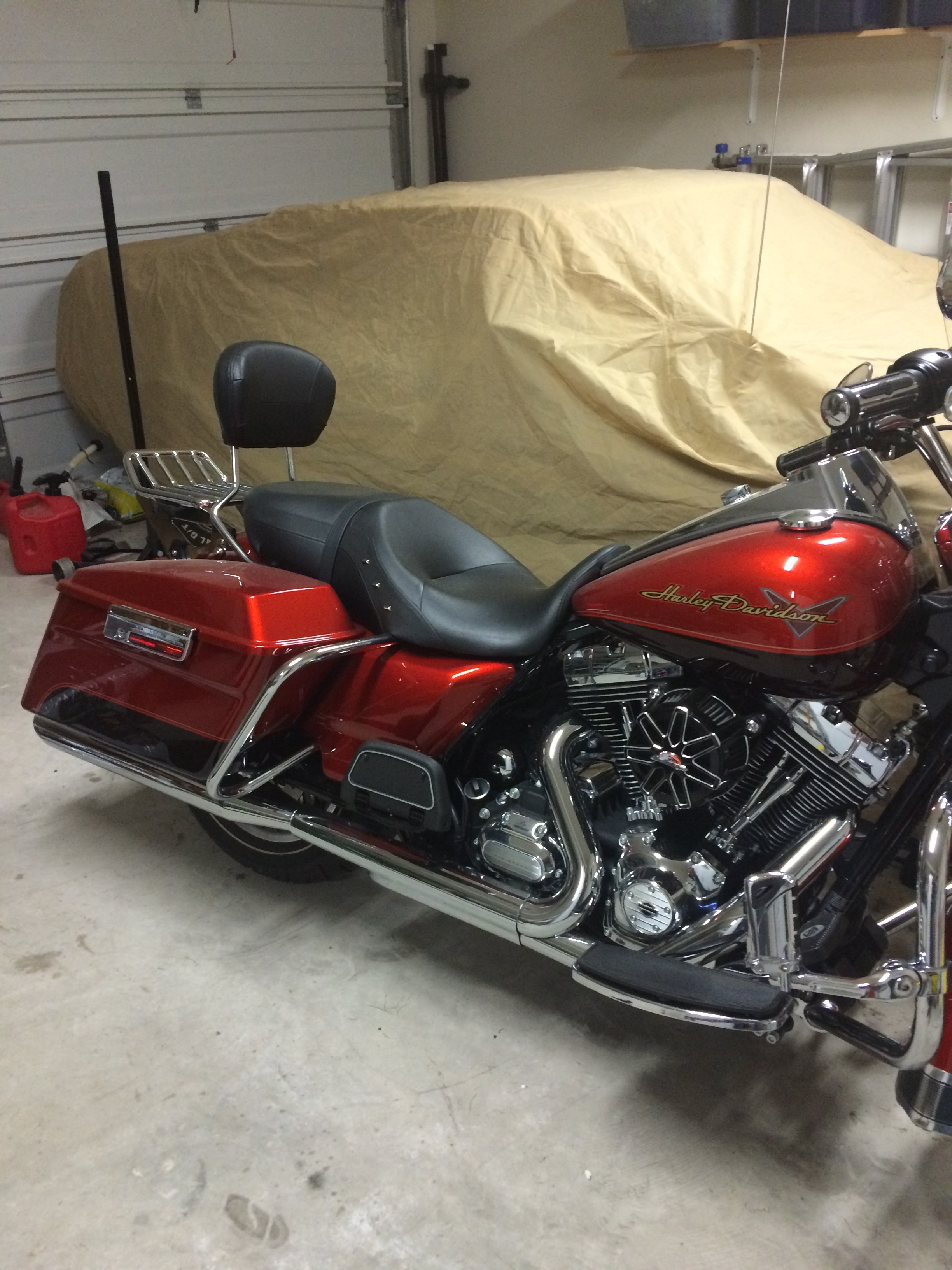 Used Harley Davidson Motorcycles >> 2013 Harley-Davidson® FLHR Road King® (Candy Orange/Beer Bottle), Fort Worth, Texas (655156 ...