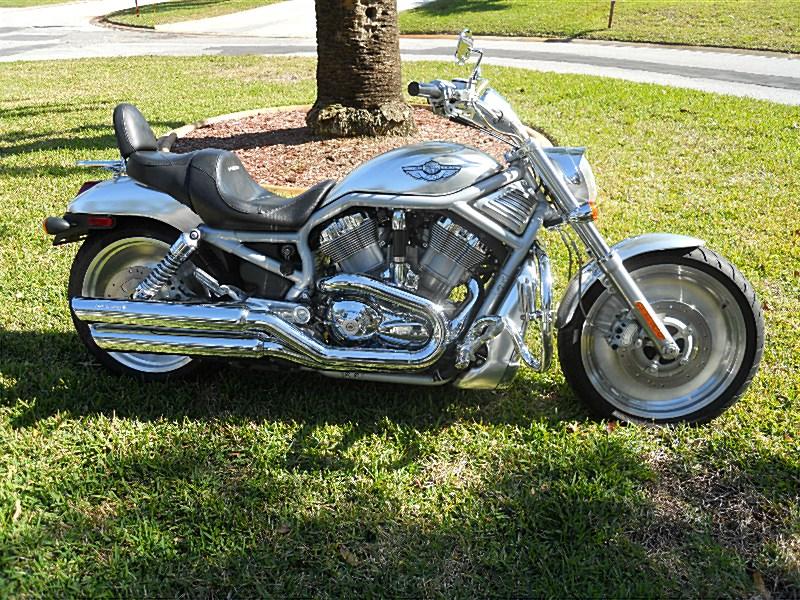 2003 Harley-Davidson® VRSCA-ANV V-Rod® Anniversary (silver anodized aluminum), Port Richey ...