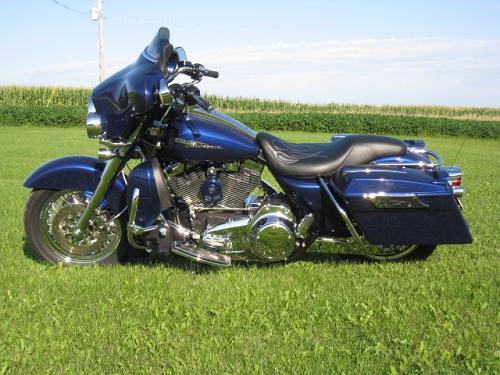 2007 Harley Davidson 174 Flhx Street Glide 174 Cobalt Blue