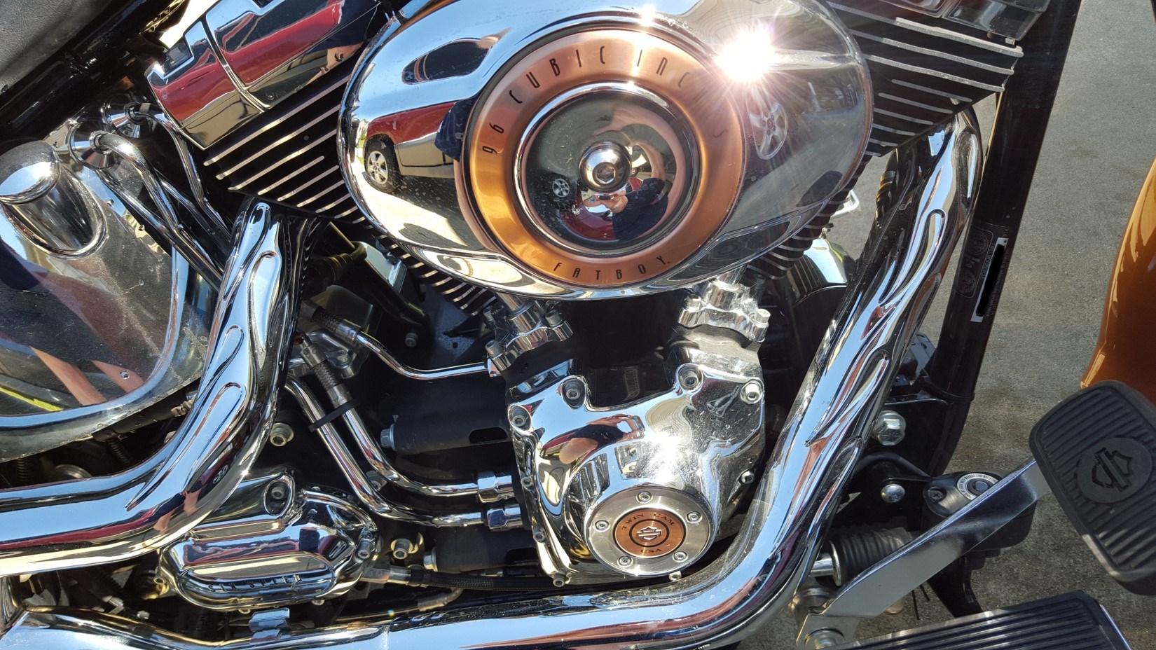 2008 Harley Davidson 174 Flstf Anv Softail 174 Fat Boy