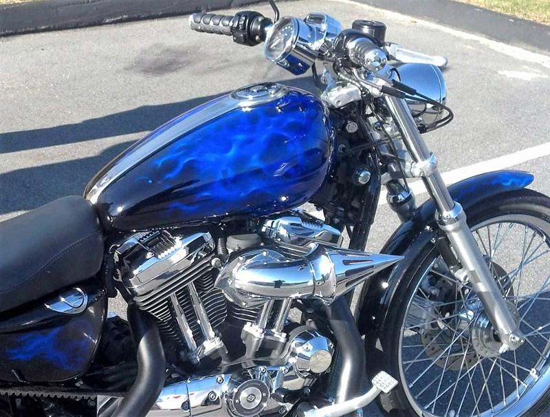 2006 Harley-Davidson® XL1200C Sportster® 1200 Custom (Black/blue
